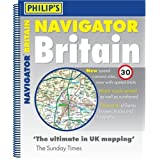Philip's Navigator Britain: Spiral (Road Atlases)