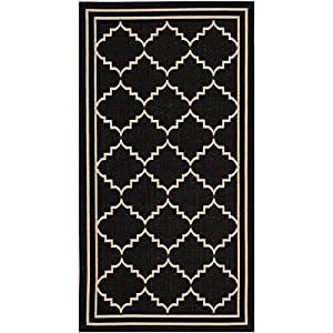 Amazon Safavieh Courtyard Collection CY6889 26 Black