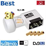 LNB QUAD 0,1 DB FULL HD BEST GERMANY...