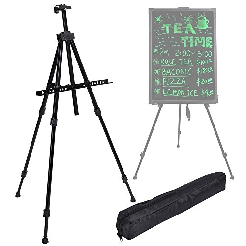 Advertisement Promotional Sign Isle Tripod Stand For Illuminated Neon Led Message Writing Board