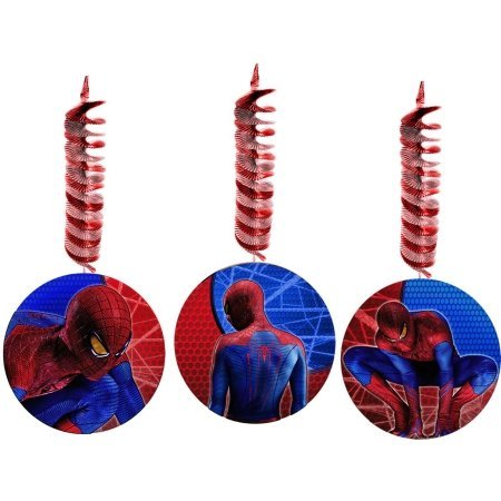 The Amazing Spider-Man Hanging Danglers Party Accessory