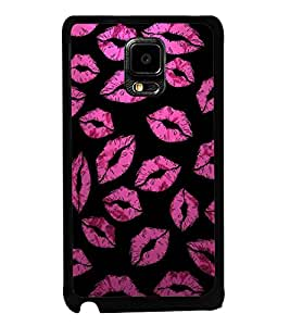 ifasho lovely Lips Back Case Cover for Samsung Galaxy Note Edge