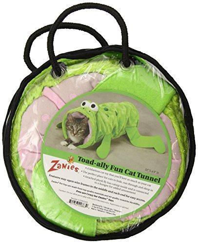 Zanies Za9222 43 Toad-Ally Fun Tunnel, Green