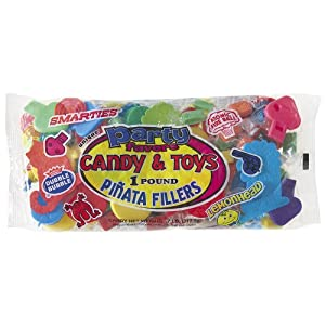Pinata Filler 1 Pound-Assorted Candy & Toys