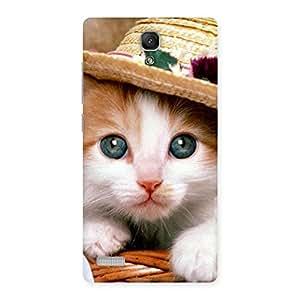 Ajay Enterprises Elite Cuty Premium Cute Hats Cat Multicolor Back Case Cover for Redmi Note 4