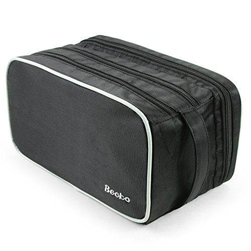 becko-travel-toiletry-dopp-kit-travel-shaving-grooming-bag-with-carry-handle-for-men-and-women