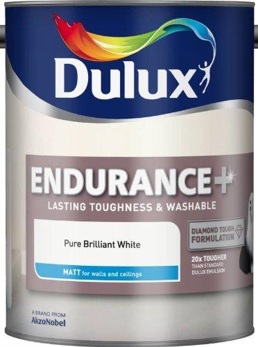 Dulux Endurance Matt Pure Brilliant White 5L