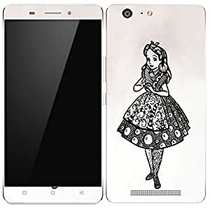 Theskinmantra Indian Lady Gionee Marathon M5 mobile skin