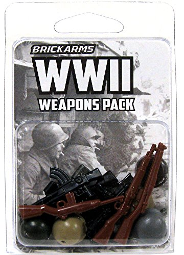 BrickArms-WWII-25-Weapons-Pack