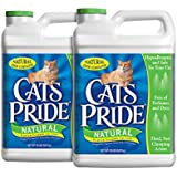 Cat's Pride 01320 Scoopable Cat Litter Jug, Natural, 2-Case