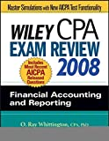 img - for Wiley CPA Exam Review 2008: Financial Accounting and Reporting (Wiley Cpa Examination Review Financial Accounting and Reporting) book / textbook / text book