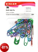 Safety Pins-Assorted 35/Pkg