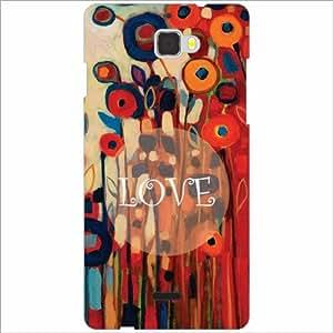Coolpad Dazen 1 Back Cover - Love Designer Cases
