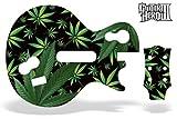 echange, troc Guitar Hero 3 Guitar Skin: Black Weeds (Wii) [Import anglais]