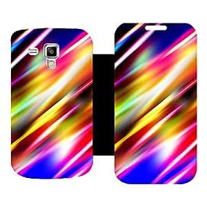 Skintice Designer Flip Cover with hi-res printed Vinyl sticker wrap-around for Samsung Galaxy S Duos 2 S7582