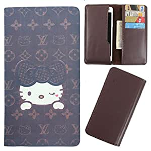 DooDa - For Redmi Note 4G PU Leather Designer Fashionable Fancy Case Cover Pouch With Card & Cash Slots & Smooth Inner Velvet
