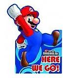 6 Invitations Anniversaire Super Mario Bros