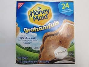 Nabisco Honey Maid Grahamfuls Smore Cracker-wiches - Box 1.lb of 24 Packs