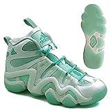 2016 Adidas UK - Adidas Crazy 8 Kobe Bryant Mint Jack Frost Pack Mens Basketball Shoes C75759 White (12.5 UK)