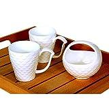 Devnow Porcelain Regent Two Mugs With Basket
