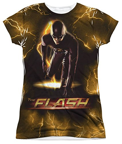 Sublimation: Junior Fit - Bolt The Flash T-Shirt