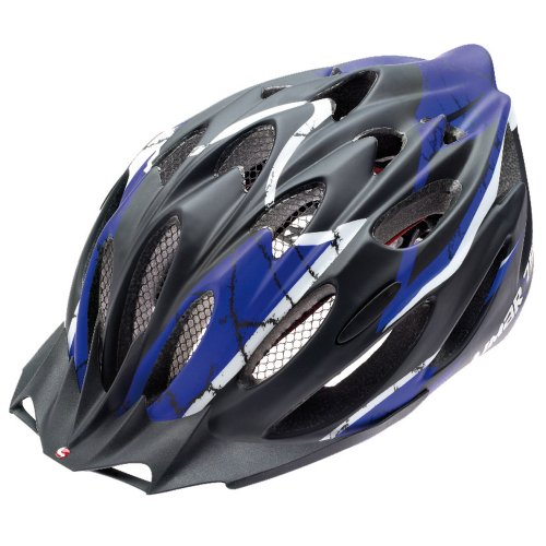 Helm 757 matt black blue 55 - 61 cm
