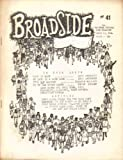 img - for Broadside Topical Song Magazine #41 March 10, 1964 book / textbook / text book