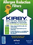 Kirby #204811 Universal HEPA White Cloth Bags For All Generation & Sentria Models (6 pk)