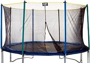 Pure Fun 9114E 14-Foot Trampoline Enclosure (trampoline sold separately) by Pure Fun