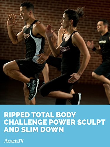 ripped total body challenge power sculpt and slim down terry shorter tina shorter. Black Bedroom Furniture Sets. Home Design Ideas