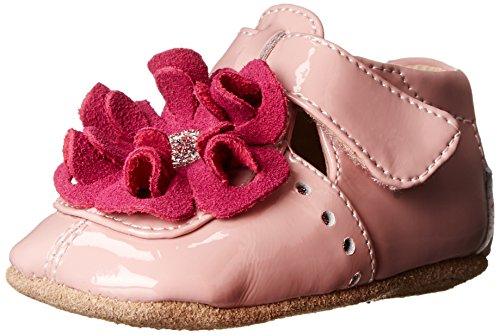 Livie & Luca Blossom Baby Crib Shoe (Infant),Pink,6-12 Months front-816173