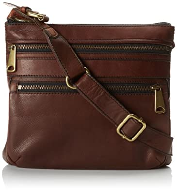 dbc19ebcdef8 Fossil Explorer Cross Body BagEspressoOne Size Fossil Shoes Compare ...