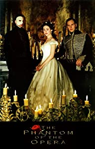 The Phantom of the Opera Poster Movie B 11x17 Gerard Butler Emmy Rossum Patrick Wilson MasterPoster Print, 11x17