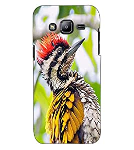 ColourCraft Lovely Bird Design Back Case Cover for SAMSUNG GALAXY J2 J200G