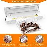 PAMISO ハンディシーラー 家庭用 密封シーラー 商品の梱包・包装に役立つ 高性能 卓上シーラー ホワイト