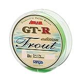 サンヨーナイロン APPLOUD GT-R トラウトエディション 100m ウォーターグリーン 4lb