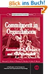 Commitment in Organizations (SIOP Org...