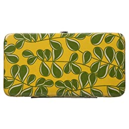 Product Image Xhilaration® Vines Clutch Wallet - Yellow