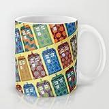 Society6 - Tardis Coffee Mug by Sharon Turner