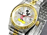 ディズニー ミッキー 腕時計 天然ダイヤ レディース DISNEY-10