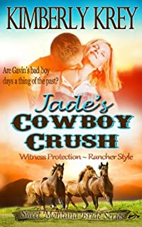 (FREE on 11/26) Jade's Cowboy Crush: Witness Protection - Rancher Style: Gavin's Story by Kimberly Krey - http://eBooksHabit.com