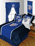 Oklahoma City Thunder TWIN Comforter WITH (TWO) PILLOWCASES - SAVE BIG BY BUNDLING! at Amazon.com