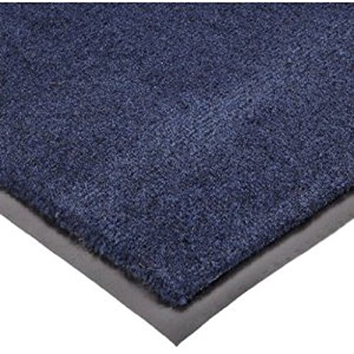 "Notrax 130 Sabre Decalon Entrance Mat, For Entranceways And Light To Medium Traffic Areas, 3' Width X 4' Length X 5/16"" Thickness, Navy front-640808"