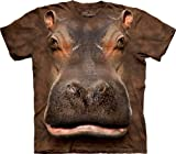 51w6nO6g6vL. SL160  Realistic 3D Zoo Animal Face T Shirts by The Mountain