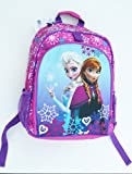 Disney Frozen Elsa and Anna Medium School Backpack and Frozen Word Activity Kit.