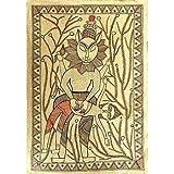 """Kunst aus Indien Malerei Madhubani Biologisches Farbpapier 29 x 39 cmvon """"ShalinIndia"""""""