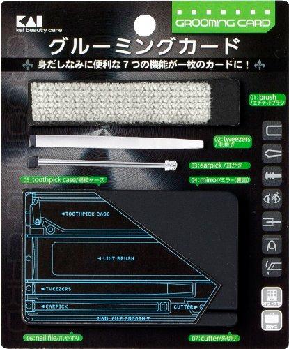 グルーミングカードエチケットブラシ付 KQ1205