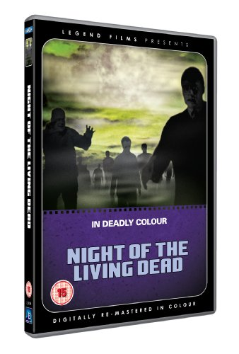 Night of the Living Dead (Digitally remastered in colour) [DVD] [1968]