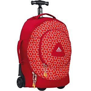 vaude gonzo 26 sac de voyage trolley enfant rouge mandarine bagages. Black Bedroom Furniture Sets. Home Design Ideas
