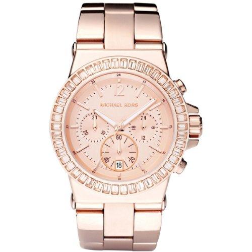 Michael Kors Mk5412 Ladies Rose Gold Chronograph Watch